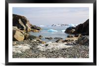 Cierva Cove Antarctica, Framed Mounted Print