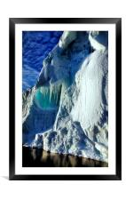 Iceberg Giant, Cape Roget, Antarctica, Framed Mounted Print