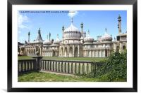 The Royal Pavilion Brighton England, Framed Mounted Print