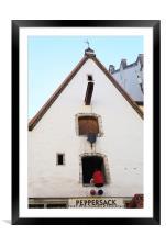 Peppersack, Old Town, Tallinn, Estonia, Framed Mounted Print