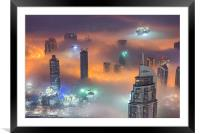 Building The Future, Framed Mounted Print