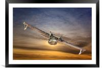 A  PBY Catalina Soars, Framed Mounted Print