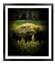 Where the fairies live, Framed Mounted Print