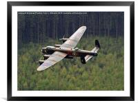 Dambusters 70 Years On - The Derwent Dam 1, Framed Mounted Print