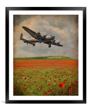 We Remember Them, Framed Mounted Print
