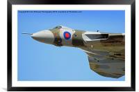 Avro Vulcan RIAT 2015, Framed Mounted Print