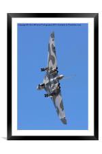 Avro Vulcan Take Off Riat 2015, Framed Mounted Print