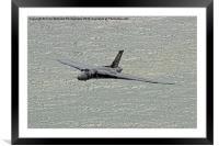 Vulcan XH558 from Beachy Head 6, Framed Mounted Print
