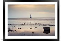 Evening at Cockersands, Framed Mounted Print