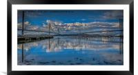 Forth Bridges, Framed Mounted Print