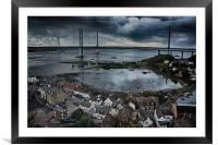 North Queensferry , Framed Mounted Print