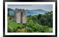 Neidpath Castle, Framed Mounted Print