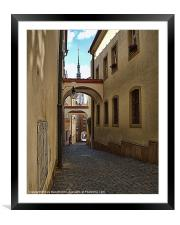 Medieval Olomouc Of Czech Republic, Framed Mounted Print