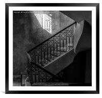 The Staircase, Framed Mounted Print