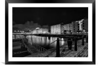 """LIVERPOOL ALBERT DOCK"", Framed Mounted Print"