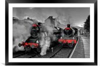 """Llangollen Railway(Santa Special), Framed Mounted Print"