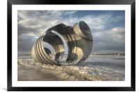 Marys Shell Cleveleys, Framed Mounted Print