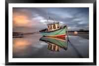 Catching the Late Evening Light, Framed Mounted Print