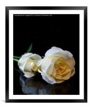 For the Love of Two, Framed Mounted Print