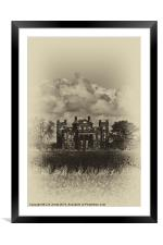 Seaton Delaval Hall, Framed Mounted Print