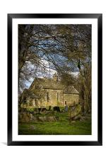 Norman Church of Our Lady and Saint Joseph, Framed Mounted Print