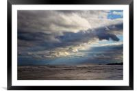 Big mixed up sky, Framed Mounted Print
