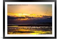 Just after sunrise, Framed Mounted Print