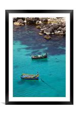 Chrystal Clear, Framed Mounted Print