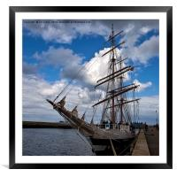 End of the voyage, Framed Mounted Print