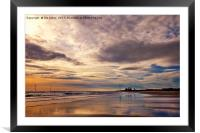 Dawn reflections, Framed Mounted Print
