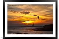 Dawn at St Mary's, Framed Mounted Print