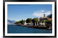 Lake Garda , Framed Mounted Print