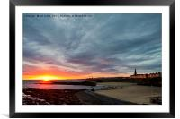 Wake up Cullercoats!, Framed Mounted Print