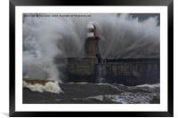 Splash!, Framed Mounted Print