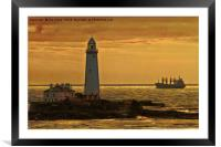 Artistic St. Mary's, Framed Mounted Print