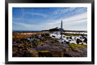 Reflecting St. Mary's, Framed Mounted Print