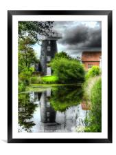 Norton Marsh Mill, Framed Mounted Print