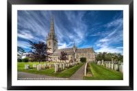St.Margaret's Church, Framed Mounted Print