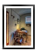 Victorian Jail Office, Framed Mounted Print