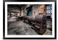 Old Boiler, Framed Mounted Print