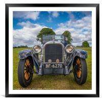 1925 Dodge, Framed Mounted Print
