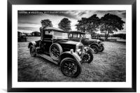 Wolseley Classic, Framed Mounted Print