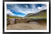 Cwm Idwal Lake, Framed Mounted Print