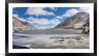 Welsh Winter, Framed Mounted Print