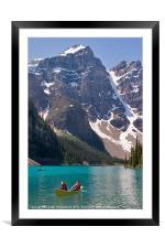 Moraine Lake, Banff, Framed Mounted Print