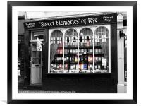 Sweet Memories of Rye, East Sussex, Framed Mounted Print