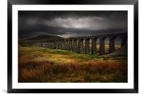 Ribblehead viaduct, Framed Mounted Print
