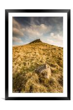 The Crest of Crook Hill, Framed Mounted Print