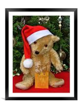 Christmas Bears, Framed Mounted Print
