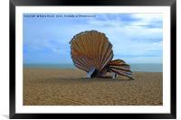 Aldeburgh Scallop, Framed Mounted Print
